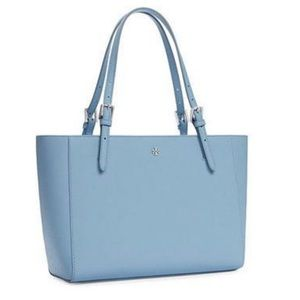 Tory Burch York Buckle Tote Blue
